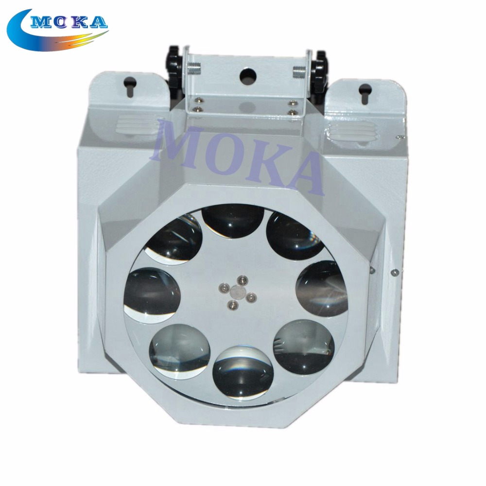 8 eyes led effect lighting RGBW Mix color LED 30W spots Light 8 Gobo CREE lamp DMX Stage light<br><br>Aliexpress
