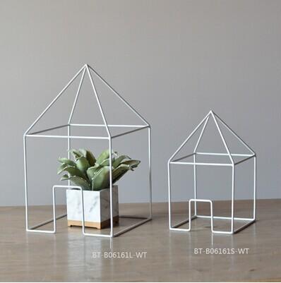 New design handmade metal craft, building shape metal craft furniture accessories(China (Mainland))