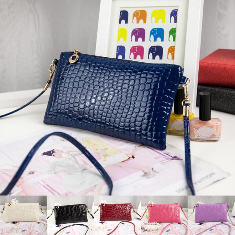 Free Shipping New Women Lady PU Leather Hangbag Messenger Shoulder Hoho Purse Satchel Crossbody Bag(China (Mainland))