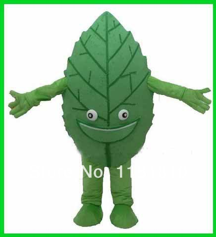 MASCOT Green Tea Green Leaf mascot costume custom fancy costume anime cosplay kits mascotte fancy dress carnival costume