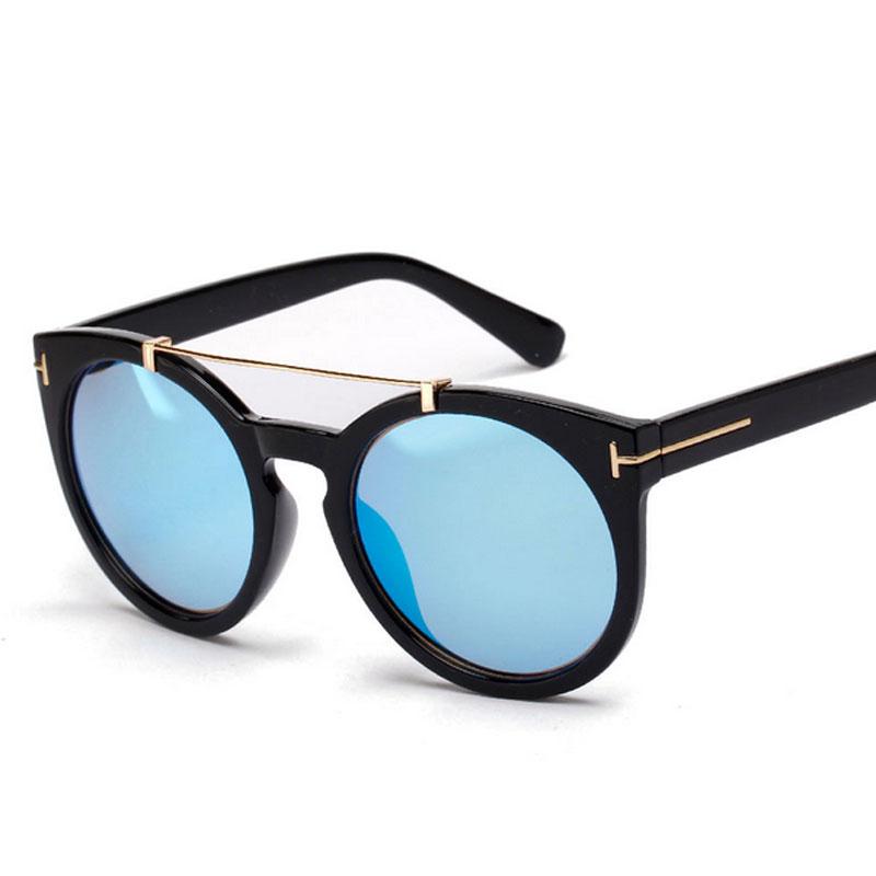 Retro Tom Polarized Sunglasses Women Men Outdoor Mirrored Steampunk Goggles Round TF Polaroid Sun Glasses Lunette de soleil 506(China (Mainland))