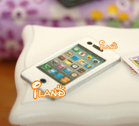 New 2014 iland 1/12 Dollhouse Miniature Mobile Phone Apple Phone HC010
