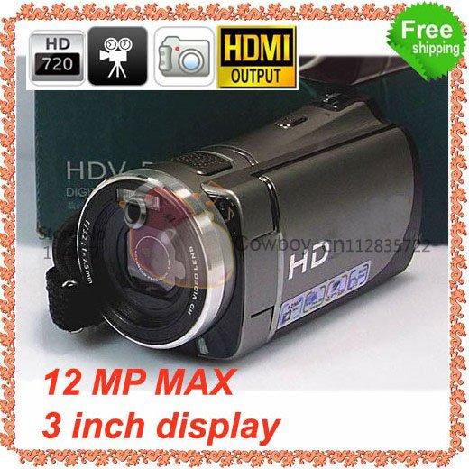 "5MP CMOS 3.0"" LCD HDMI Out Digital Camcorder(China (Mainland))"