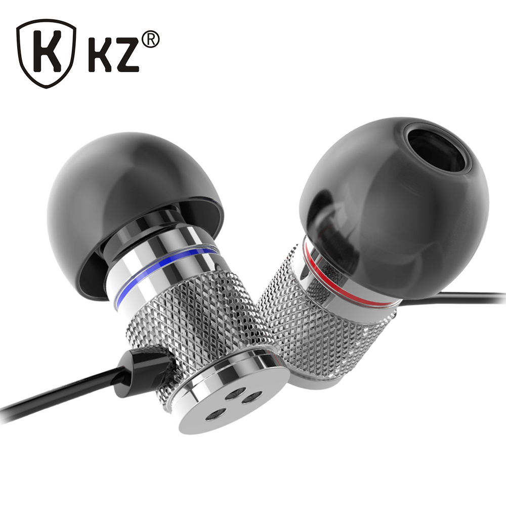 KZ HDS3 Fone de ouvido With Microphone MP3/mp4 Roping Stereo Subwoofer Earphone auriculares In Ear Earbud Metal Earphone(China (Mainland))