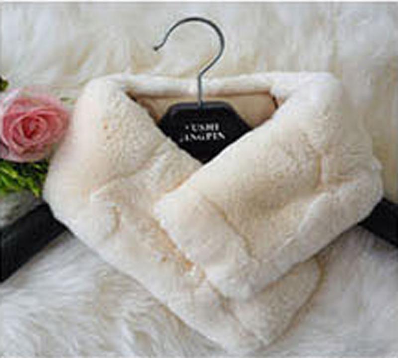 DL-12024 New Womens Winter Rabbit Hair Scarf Shawls And Scarves Knitting Fur Scarf Soft Warm Woman Muffler(China (Mainland))