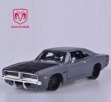 High Imitation 1:24 Dodge 1969 Challenger Muscle Car Model Collectable Car Decoration Children Popular Car Toys Free Shipping(China (Mainland))