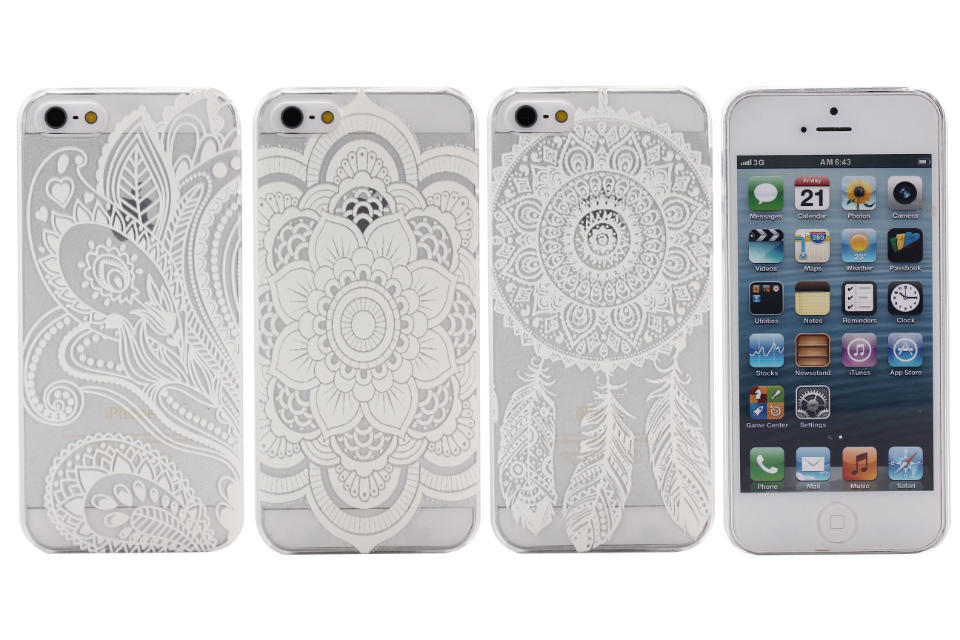 2015 Time-limited New Mobile Phone Cases Luxury Pc Vintage Paisley Flower Bags Hard Housing Back Cover For Iphone 5 5s Case Sale(China (Mainland))