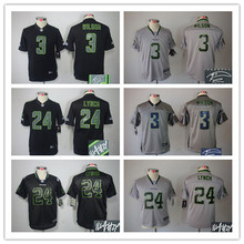 Signature youth Seattle Seahawks children 16 Tyler Lockett 3 Russell Wilsons 12 Fan 24 Lynch seahawk 88 Jimmy Graham(China (Mainland))