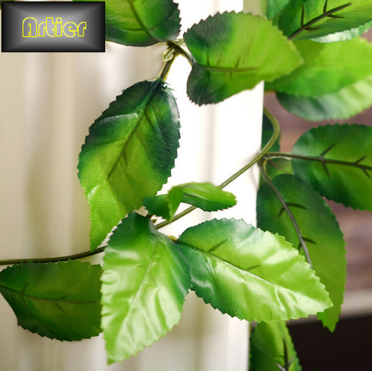 Simulation leaf vine plants wall rattan rose Leaf AD0128(China (Mainland))