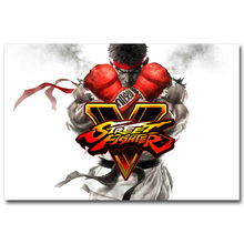 Buy Street Fighter V Art Silk Poster print 13x20 24x36inch Game Chun Li RYU Pictures Room Decor 042 for $4.91 in AliExpress store