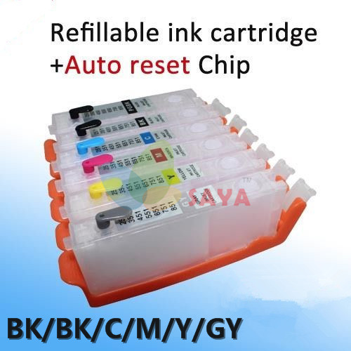 CLI 451 Refillable Ink For Canon PIXMA MG6340 MG7140 iP8740 MG7540 printer Ink with ARC Chip