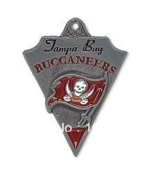 100pcs 1lot Tampa Bay Buccaneers football team sport logo charms free shipping (can be mixed)(China (Mainland))