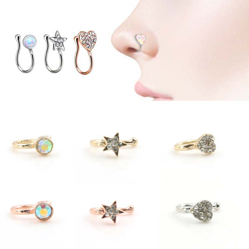 Unique nose rings reviews online shopping unique nose rings reviews on - Decorative septum jewelry ...