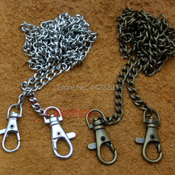 "5 pcs / Lot 120cm 47 1/4"" bags SHoulder Strap Chain Purse Handbags Replacement Handle Pick(China (Mainland))"