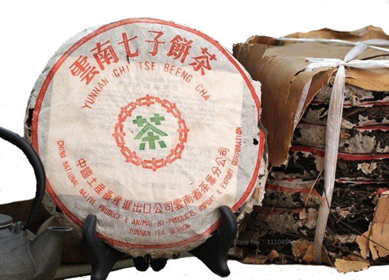 Super Popular 30 year old Top grade Chinese yunnan original Puer Tea 357g health care tea ripe Pu er puerh tea Pu'er(China (Mainland))