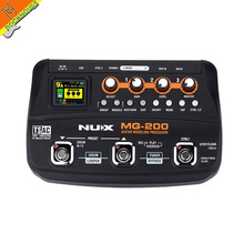 Buy NUX MG-200 Guitar Multi-effects Processor Pedal Guitarra Modeling Floor Processor Effects 55 Effect Models Free for $120.00 in AliExpress store
