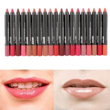 1 19 Colors Sexy Beauty Makeup Lip Gloss Lip Pencil Pen Lipstick Waterproof
