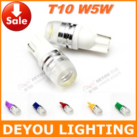 2pcs High quality T10 W5W 192 168 921 1.5W LED Width Lamp  signal indicator car wedge light bulb car lighting