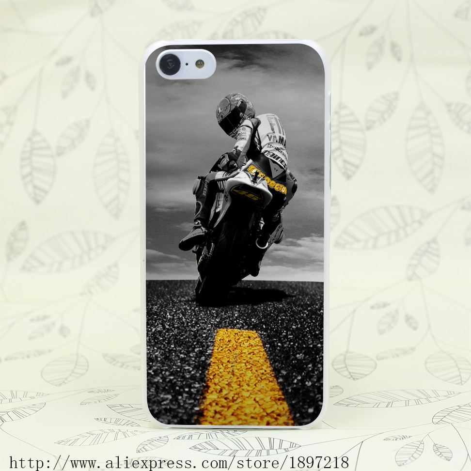 4774T Valentino Rossi 46 Superbike Hard Transparent Cover font b Case b font for iphone 4