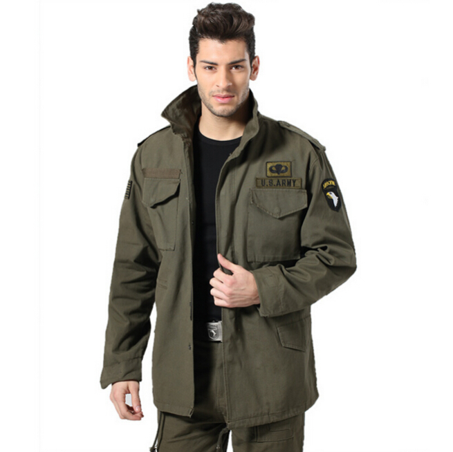 Free Knight Men's Coat,Military Jacket M65 Men's Classic Windproof Thermal Jacket,Fashion Jacket(China (Mainland))