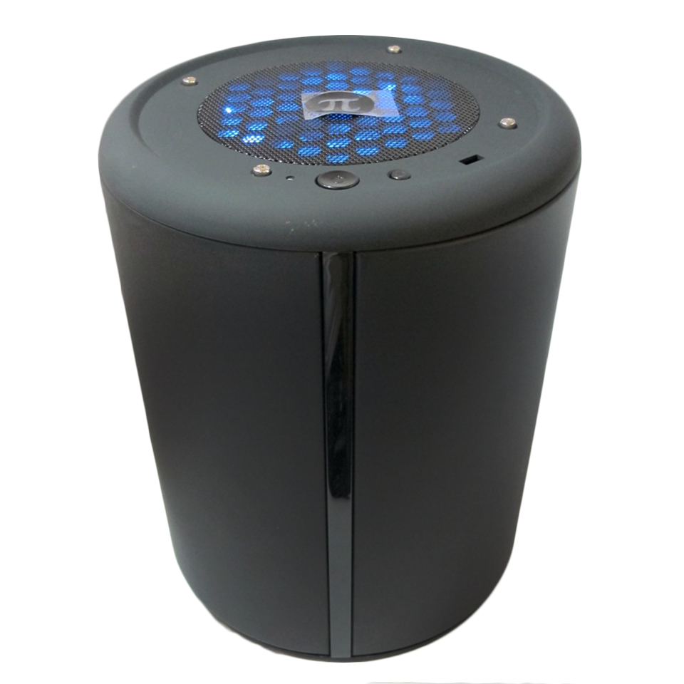 2017 Hot Sel Dust Man Mini ITX Computer PC Case Small Mini HTPC Desktop Chassis Round Case(China (Mainland))