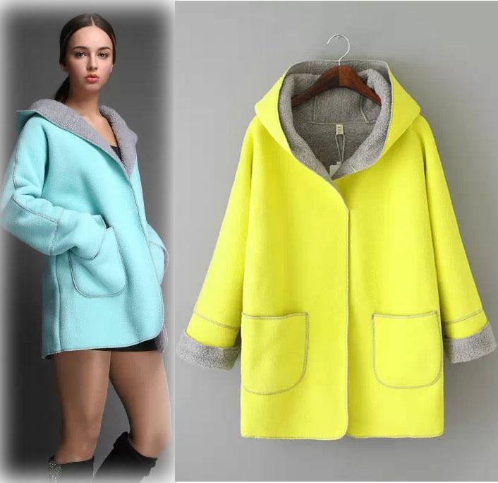 В европа и соединенные штаты ван наткнулся цвет длинная закрытый воротник ягнят шерсть пальто без тары платье пальто пальто-пыльник