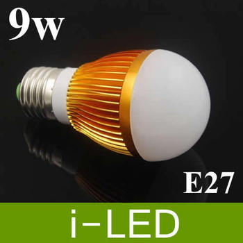 Dimmable led  Ball Bulb 9W E14 E27 B22 GU10 High power LED Light Bulbs Lamp Lighting