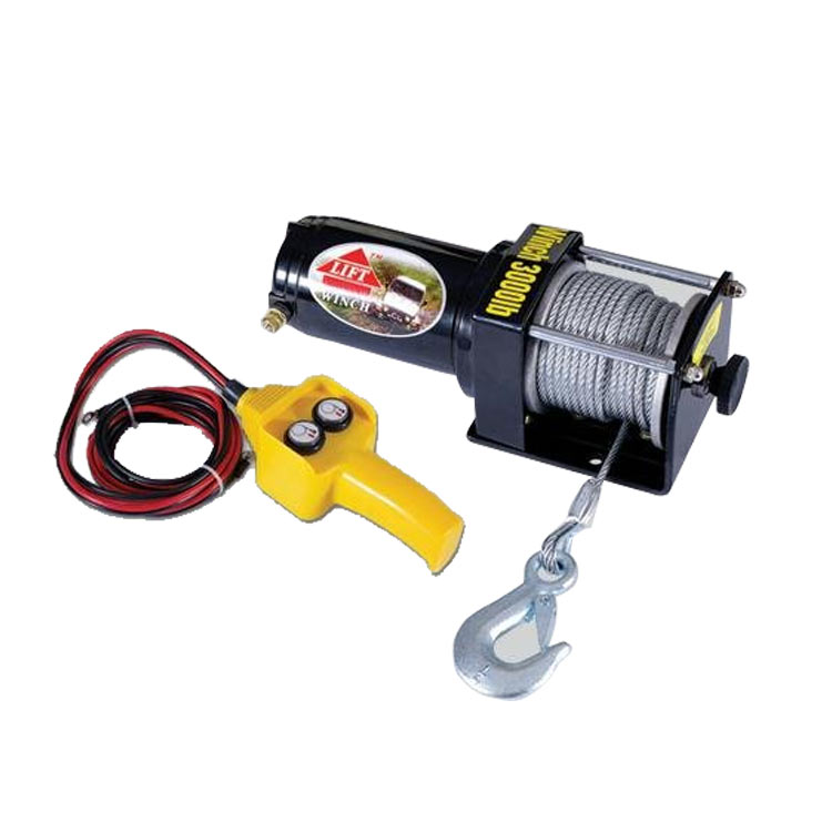 The Vehicle Crane 12v 24v Electric Winch Small Motor Car