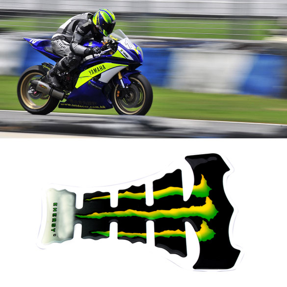 New Arrival Cool Flame Motorcycle Gas Tank Pad Sticker Carbon Fiber Tankpad Protector Bicycle Motorcycle Sticker