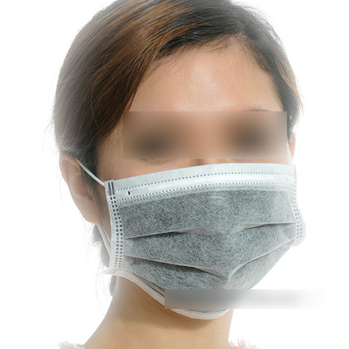 Wholesale Deal-50PCS Professional 4 Layers Disposable Activated Carbon Face Mask Doctor Mask Anti Dust/Germs(China (Mainland))