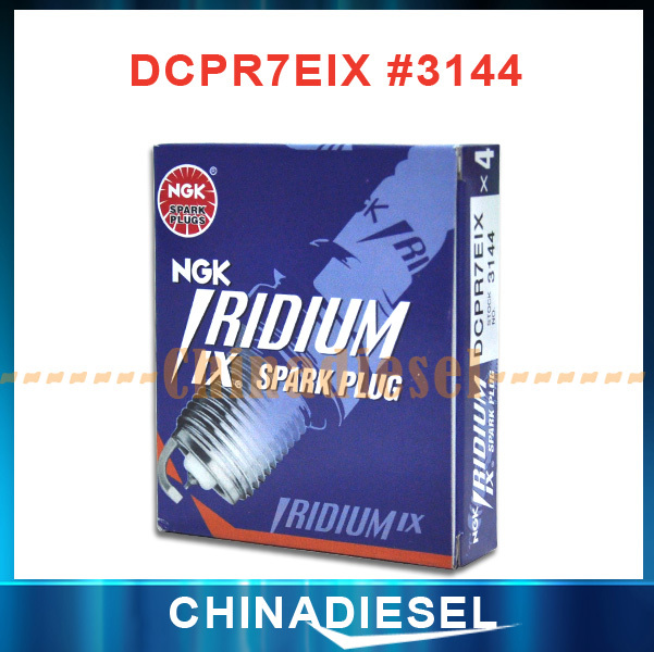 Free Shipping! 4pcs/lot High performance NGK Iridium Power spark plug NGK DCP7REIX-11 Spark Plugs For Plough Car MADE IN JAPAN(China (Mainland))