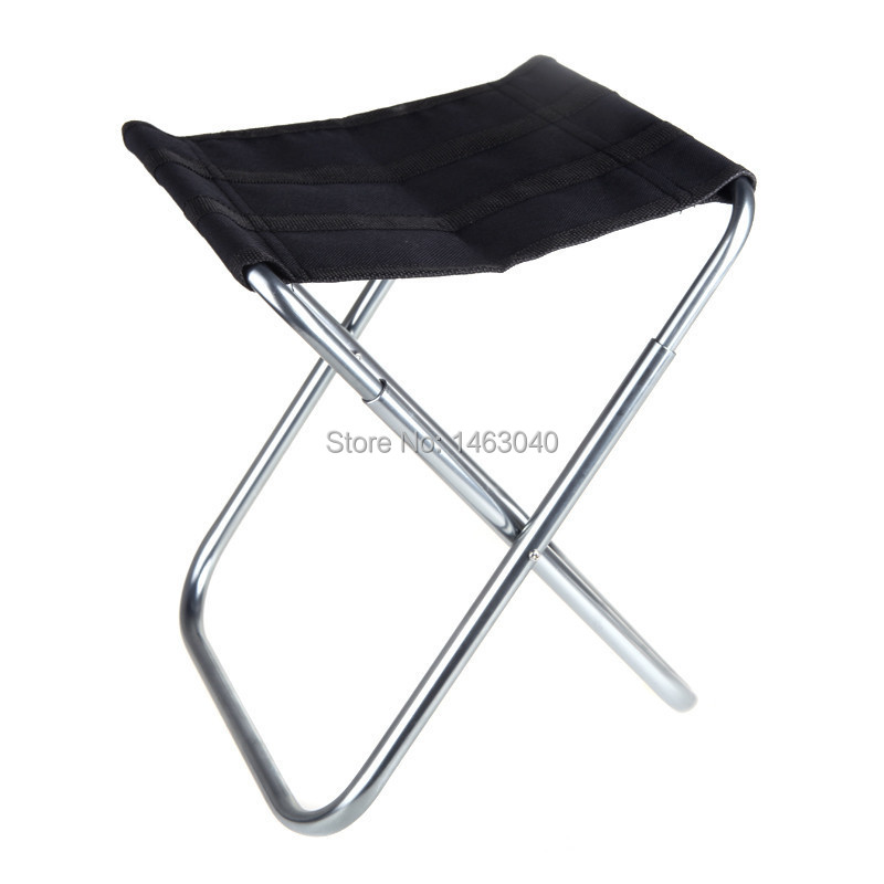 New 2015 Portable Folding Chair Outdoor Camping Fishing Chair Aluminum Oxford