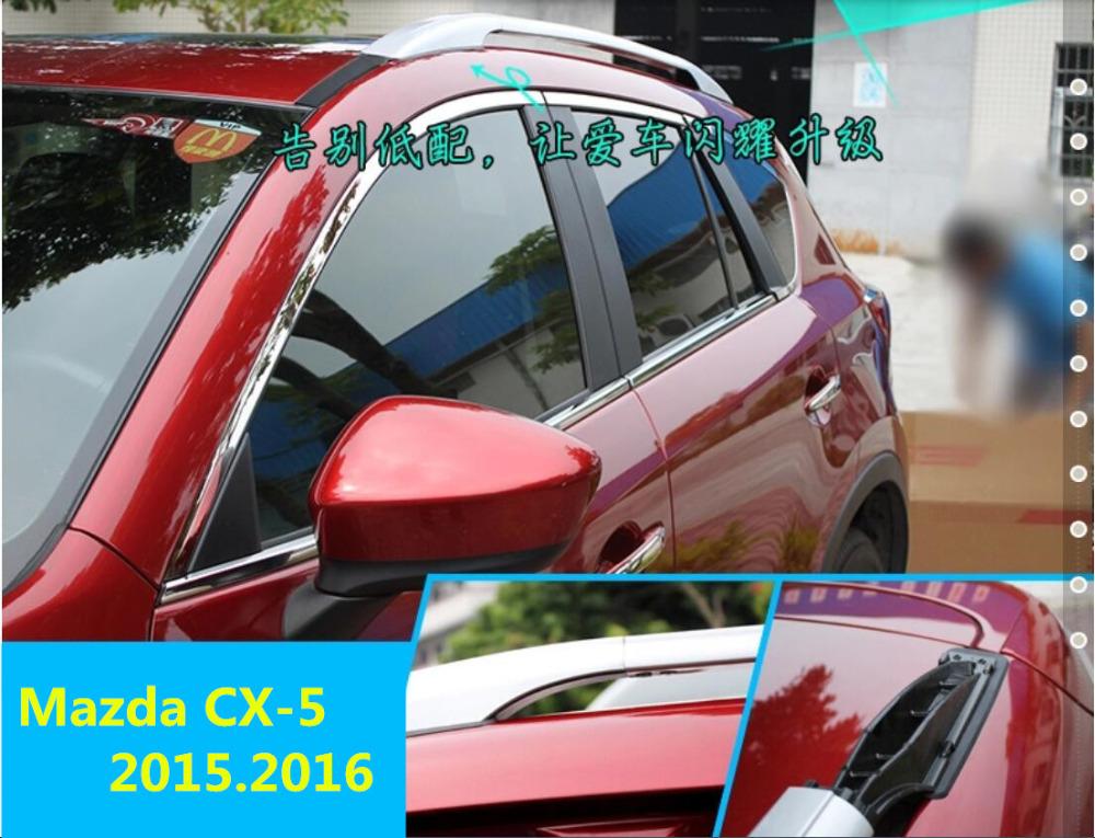 For Mazda CX-5 2013.2014.2015.2016 Roof Rack Luggage rack Roof Racks Brand new Aluminum Original design Screw fixing(China (Mainland))