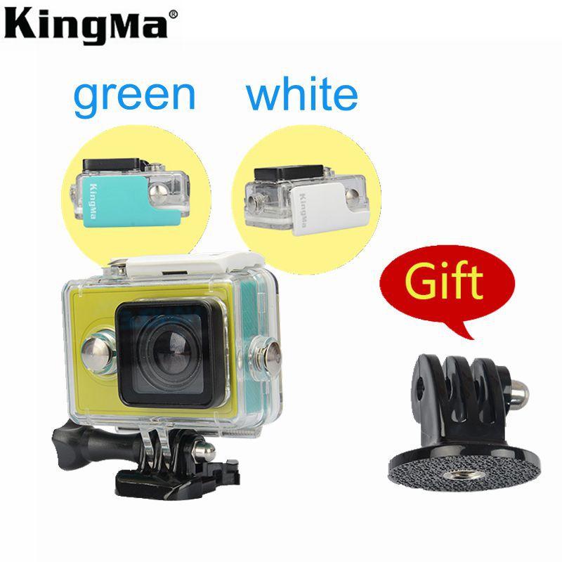 KingMa Original Xiaomi Yi Waterproof Case,Mi Yi 40M Diving Sports Xiaomi yi case, Action Camera Xiaomi yi Aksesoris Accessories(China (Mainland))