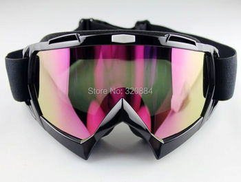 2015 NEW In stock Ski Snowboard Snowmobile Motorcycle Goggles Off-Road Eyewear Black&Color T815-7