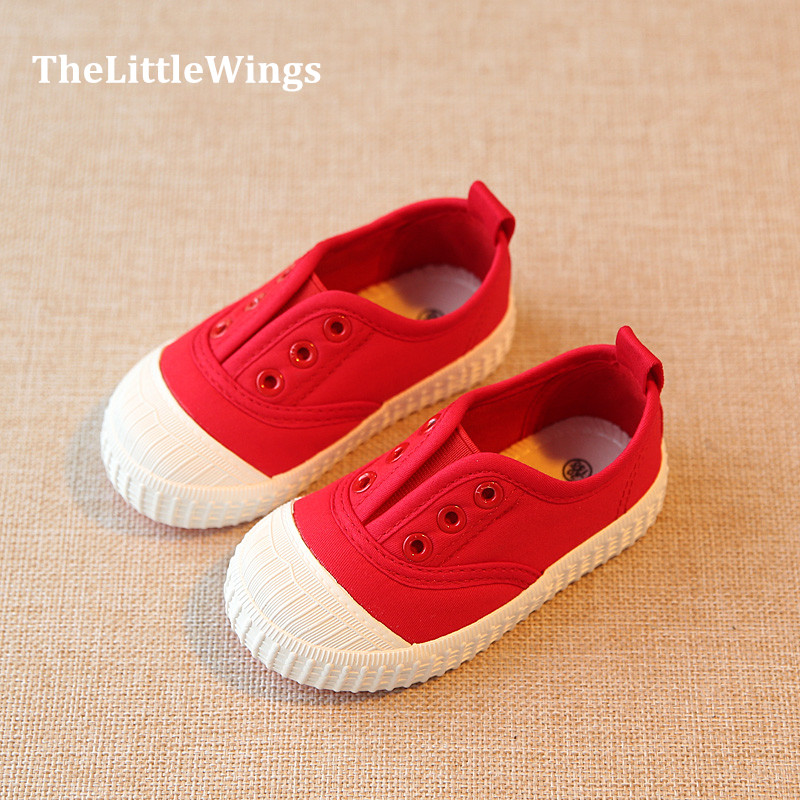 Autumn 2016 new Fashion Children's shoes boys loafers sneakers chaussure girls toddler Light, casual canvas shoes super perfect(China (Mainland))