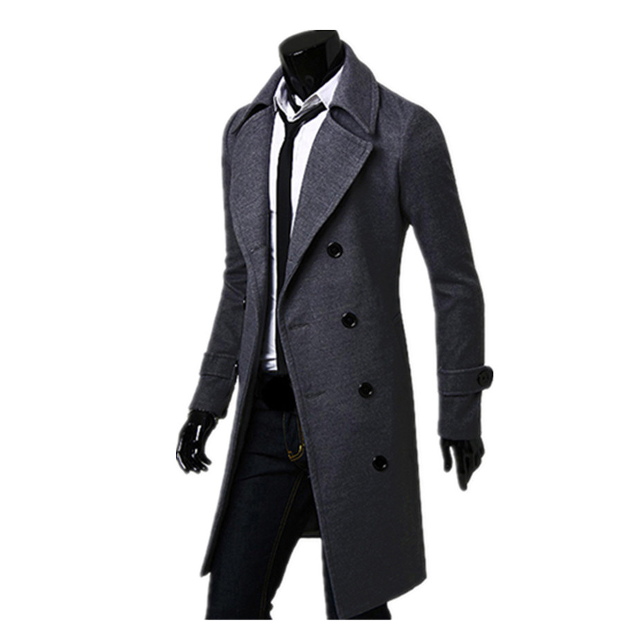 Mens Long Coat Photo Album - Reikian