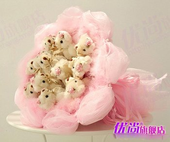 plush toys, 11 teddy bears toys, for girlfriend and wife and friends gifts,free shipping toys hot sale doll