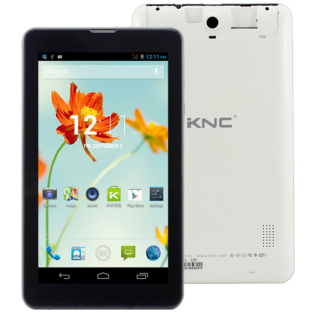 """Original KNC MD703 MTK8312 1.2GHz Dual Core 512MB+8GB 7.0"""" 1024 x 600 3G + Voice function Android 4.2 Phone Call Tablet PC(China (Mainland))"""