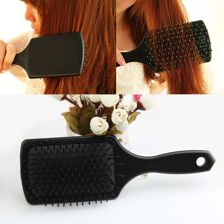 High Recommend Professional Healthy Paddle Hair Loss Massage Brush Hairbrush Comb Hair Styling Tool HB-0016(China (Mainland))