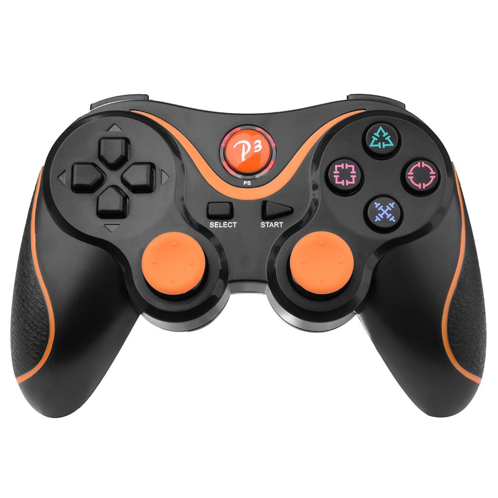 XCSOURCE Wireless Bluetooth Game Controller Gamepad Joystick for PS3 Playstation 3 Black AC428(China (Mainland))