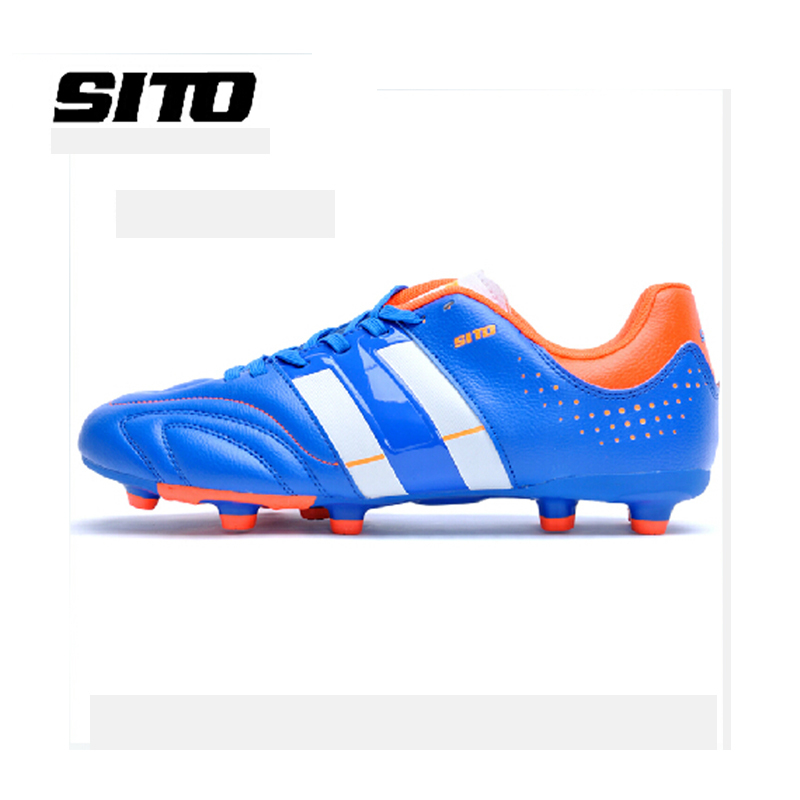 Counters authentic legend series leather foot nail football shoes sneakers super flexible FG game(China (Mainland))