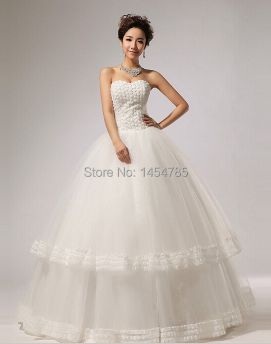 buy free shipping wholesale 2014 new fashionable bride wedding dress