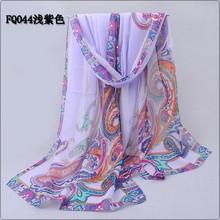 high quality fashion designer brand fashion chiffon decoration scarves for women size 160*50CM(China (Mainland))