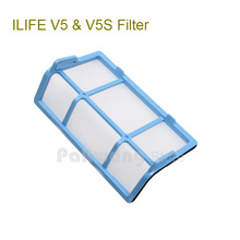 Original filter for Robot Vacuum Cleaner ILIFE V5 model Spare Parts replacement from factory, 1 pc, free shipping(China (Mainland))