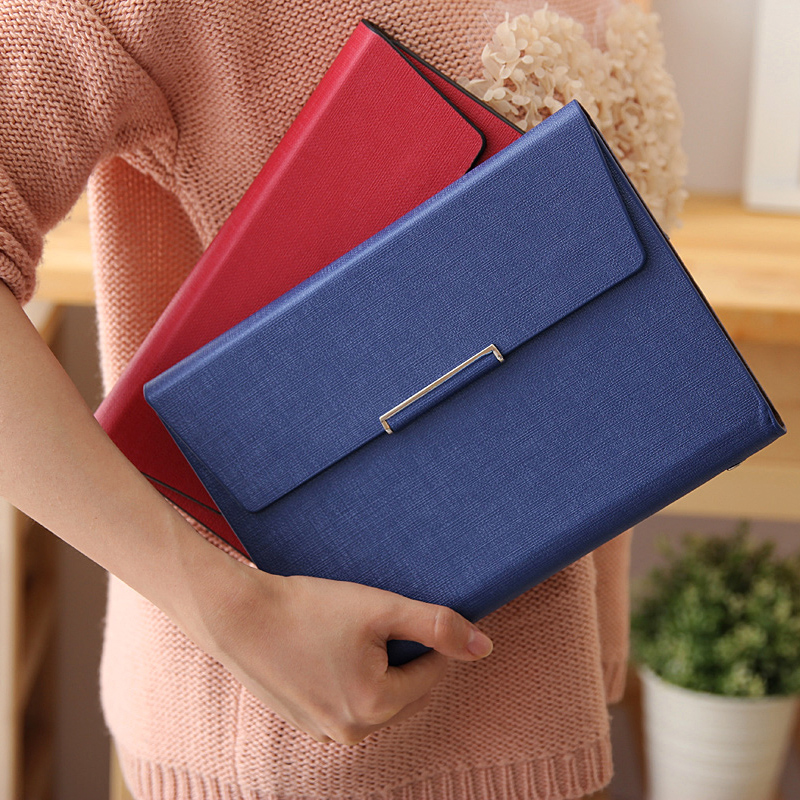 free shipping Advanced commercial leather faux leather loose-leaf notepad agenda notepad notebook(China (Mainland))