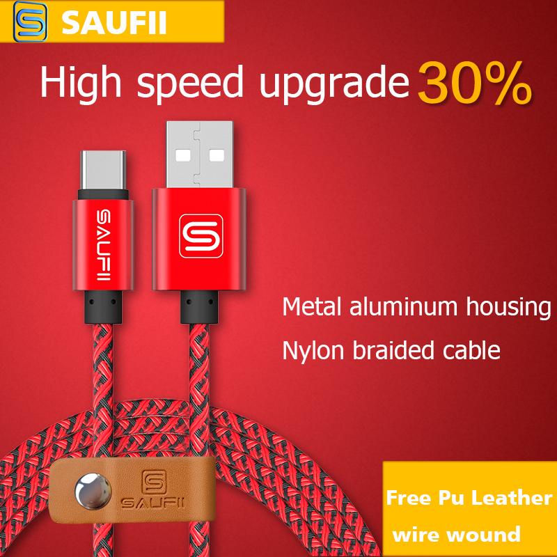 SAUFII Usb Type C Cable 2m 1m USB 2.0 USB-C to USB-C Cable 0.2M/1M/2M/ for LG G5/Nexus 5X/6P/Lumia 950/950XL oneplus 2(China (Mainland))