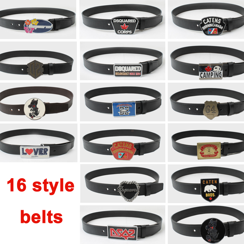2016 extravagant Hot Selling New DSQ Men Classic Leisure Belts Real Cowskin Leather Waistband Fashion D2 Girdle Free ShippingОдежда и ак�е��уары<br><br><br>Aliexpress