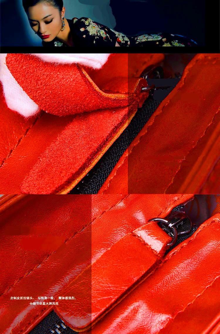 2015 New Women Messenger Bags Fashion Genuine Leather Handbag