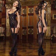 2015 Women's Sexy Erotic Lace Lingerie Dress Sleepwear Underwear G-string